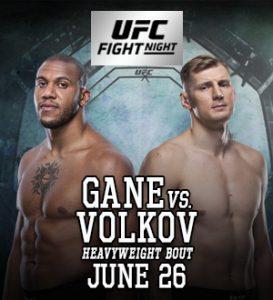 UFC Fight Night: Gane vs. Volkov @ UFC Apex, Enterprise, Nevada.
