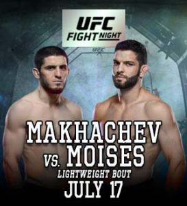 UFC on ESPN: Makhachev vs. Moisés @ UFC Apex, Enterprise.